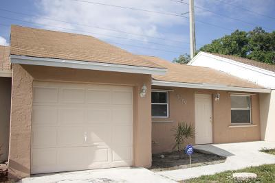Lake Worth, Lakeworth Single Family Home For Sale: 5589 Kimberton Way