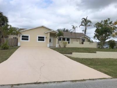 Port Saint Lucie, Saint Lucie West Single Family Home For Sale: 601 SW Sail Terrace