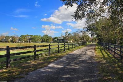 Loxahatchee Single Family Home For Sale: 2562 Prairieview Drive