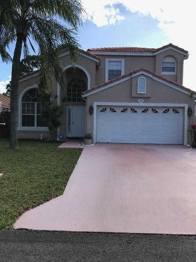 Greenacres Single Family Home For Sale: 114 S Wedgewood Lakes