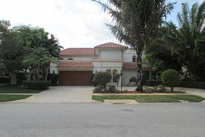 Boca Raton Single Family Home For Sale: 7972 Mandarin Drive