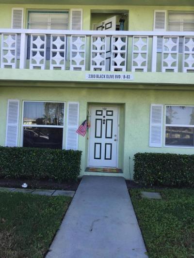Delray Beach Condo For Sale: 2380 Black Olive Boulevard #102