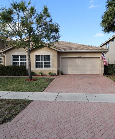 Boynton Beach FL Single Family Home For Sale: $379,000