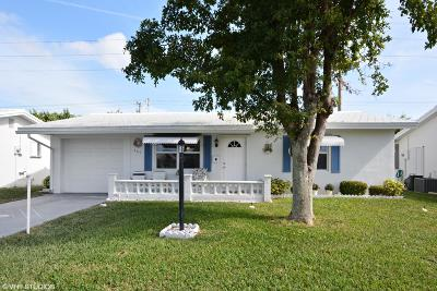 Boynton Beach FL Single Family Home For Sale: $155,000