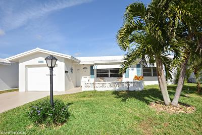 Boynton Beach, Gulf Stream Single Family Home For Sale: 2391 SW 9th Avenue