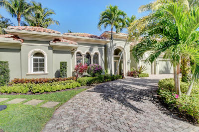 Delray Beach FL Single Family Home For Sale: $1,200,000