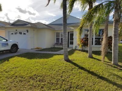Fort Pierce Single Family Home For Sale: 6619 Alheli