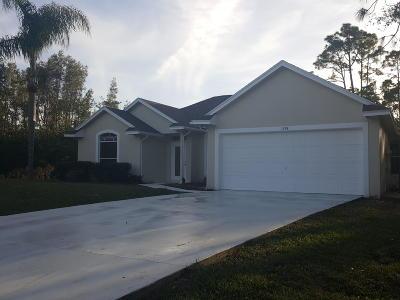 Port Saint Lucie, Saint Lucie West Single Family Home For Sale: 1974 SW Day Street SW