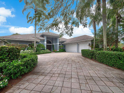 Palm Beach Gardens Single Family Home For Sale: 19 Saint James Drive