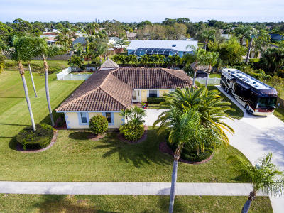 Port Saint Lucie Single Family Home For Sale: 2098 SE Erwin Road