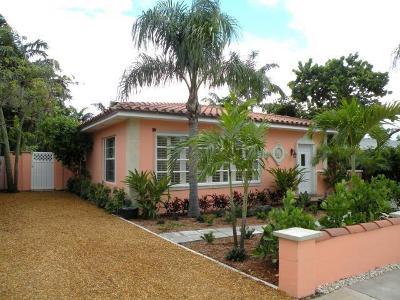Lake Worth, Lakeworth Single Family Home For Sale: 120 Harvard Drive