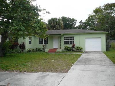 Fort Pierce Single Family Home For Sale: 1003 Georgia Avenue