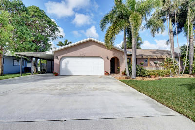 Lake Worth Single Family Home For Sale: 2773 Northside Drive