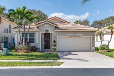 Boynton Beach Single Family Home For Sale: 1110 Rialto Drive