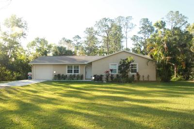 Jupiter Single Family Home For Sale: 9452 165th Place