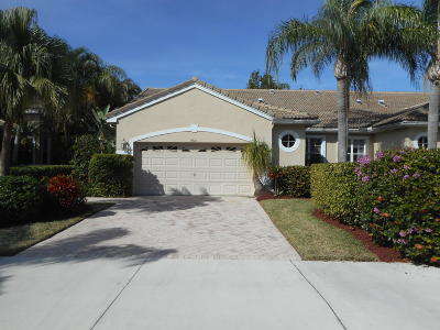 Lake Worth Single Family Home For Sale: 4681 Carlton Golf Drive