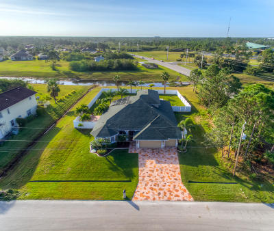 Port Saint Lucie Single Family Home For Sale: 6080 NW Favian Avenue NW
