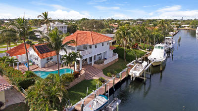 North Palm Beach Single Family Home For Sale: 619 Pilot Road