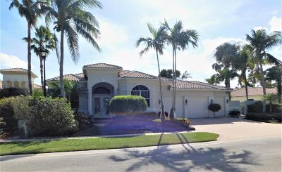 Boynton Beach Single Family Home For Sale: 54 Island Drive