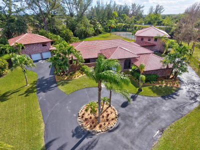 Boca Raton Single Family Home For Sale: 11300 Sundance Lane