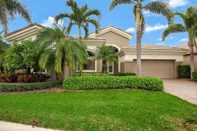 West Palm Beach Single Family Home For Sale: 7431 Blue Heron Way