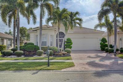 Boynton Beach Single Family Home For Sale: 6862 Southport Drive