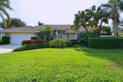 Hobe Sound Single Family Home For Sale: 8317 SE Woodcrest Place