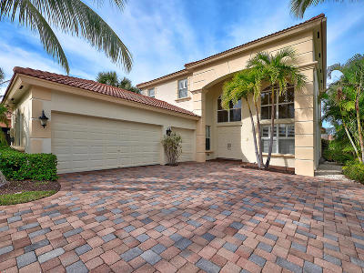 Palm Beach Gardens Single Family Home For Sale: 112 Via Escobar Place