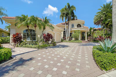 West Palm Beach Single Family Home Contingent: 8452 Egret Meadow Lane