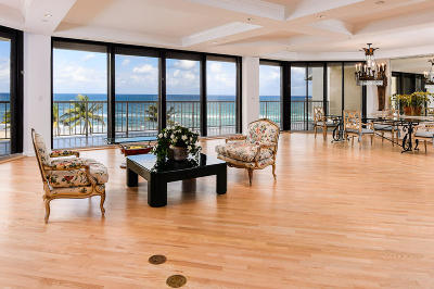 Palm Beach Condo For Sale: 2770 S Ocean Boulevard #503s