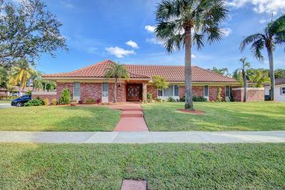 Boca Raton Single Family Home For Sale: 6782 Viento Way
