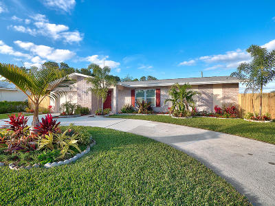 west palm Single Family Home For Sale: 421 Greenbriar Drive