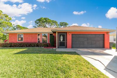 Port Saint Lucie Single Family Home For Sale: 355 NW Dearman Street