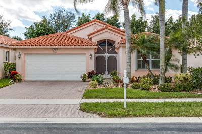 Boynton Beach Single Family Home For Sale: 5358 Wycombe Avenue