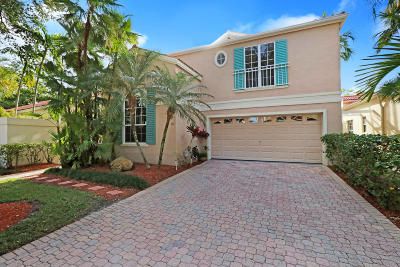 Palm Beach Gardens Single Family Home For Sale: 70 Via Verona