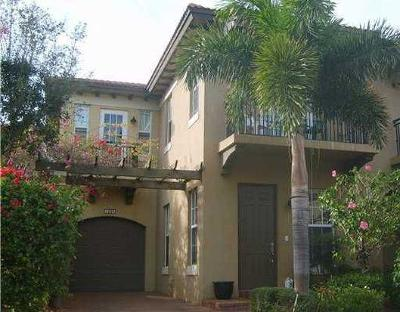 West Palm Beach Townhouse For Sale: 2805 Eagle Rock Circle #1005