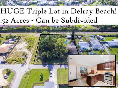 Delray Beach Single Family Home For Sale: 5274 Cleveland Road