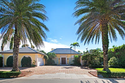 Palm Beach Single Family Home For Sale: 224 Sandpiper Drive
