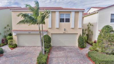 Boca Raton Townhouse For Sale: 4861 NW 16th Terrace