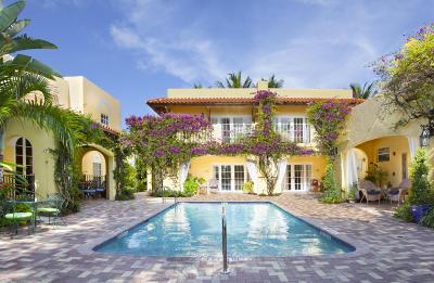 West Palm Beach Single Family Home For Sale: 1608 Lake Avenue