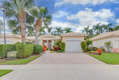 Boynton Beach Single Family Home For Sale: 9823 Crescent View Drive S