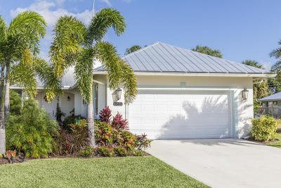 Jupiter Single Family Home For Sale: 17634 Cinquez Park Road E