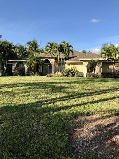 West Palm Beach Single Family Home For Sale: 12377 77th Place