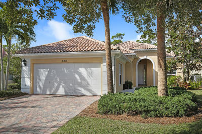 Palm Beach Gardens Single Family Home Contingent: 8955 Oldham Way