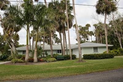 Fort Pierce Single Family Home For Sale: 6416 E Riverland Drive