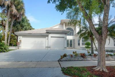 Boca Raton Single Family Home For Sale: 791 Parkside Circle