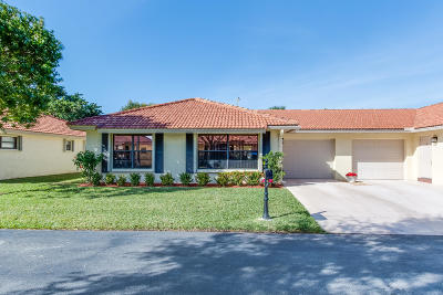Boynton Beach Single Family Home For Sale: 4450 Pandanus Tree Road #A