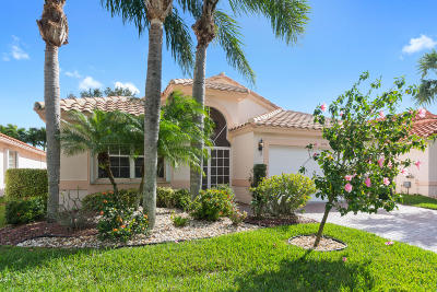 Boynton Beach Single Family Home For Sale: 11770 Grove Ridge Lane