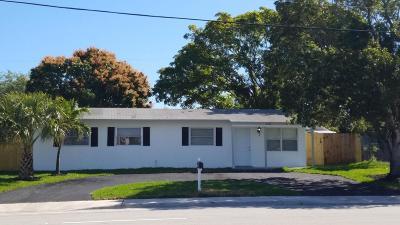 Boynton Beach Single Family Home For Sale: 3460 Seacrest Boulevard