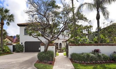 Delray Beach Single Family Home For Sale: 1248 Vista Del Mar Drive